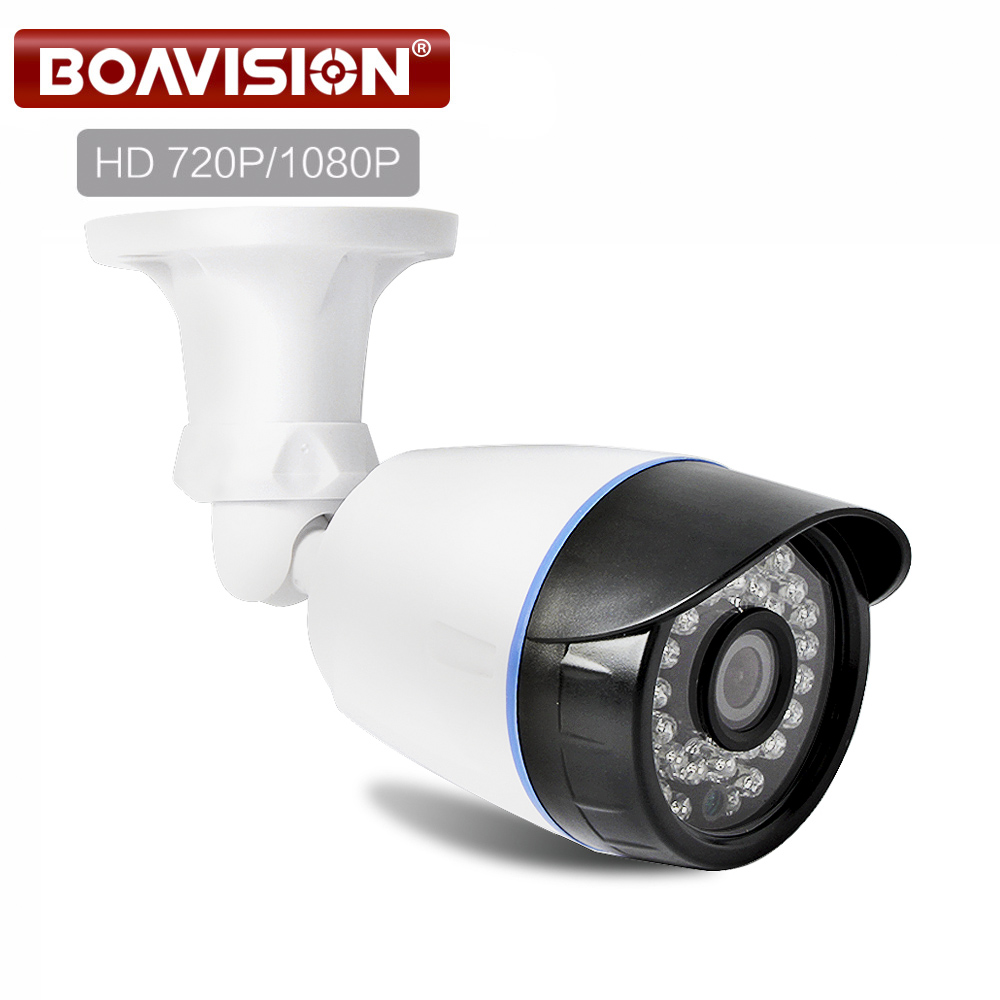 1.0MP 2MP CCTV AHD Camera Hybrid CVI TVI CVBS 4 IN 1 NightVision 720P 1080P HD Bullet Security Camera Waterproof With OSD Menu ahd cvi tvi cvbs 4 in 1 1 3 6 cmos module 720p 1 0mp with osd function v20e ov9732