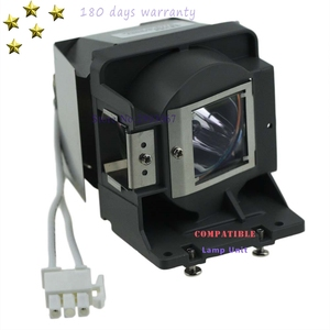 Image 1 - Replacement  MS517 MX518 MW519 MS517F MX518 lamp 5J.J6L05.001 with housing for BENQ  with 180 days warranty