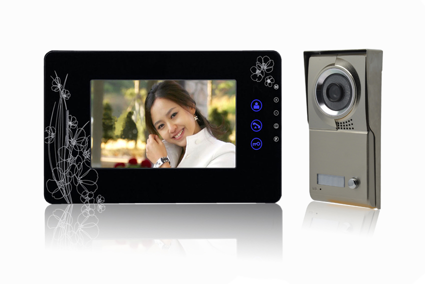 7 Inch Big Screen IR Night Vision Video Door Phone