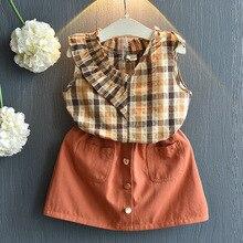 Kids Girls Clothes Sets Floral T-shirt Fashion 3-7T