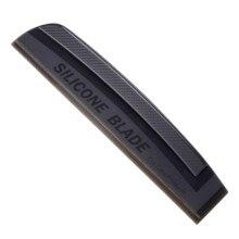 Limpiaparabrisas de silicona ecológico para coche, escurridor de lavado de ventanas, color gris oscuro, calidad estándar japonés, 1 unidad, envío gratis