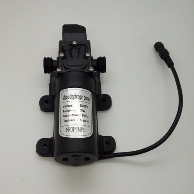 E0184 5lpm Water Pumps 12v Dc Mid Pressure Pump With Switch Diaphragm Bosster