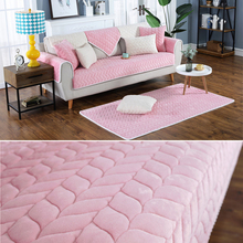 Thicken Plush Fabric Sofa Cover Lace Slip Resistant Slipcover Seat European Style Couch Cover Sofa Towel For Living Room Decor все цены