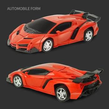 Car Transformation Robots Sports Vehicle Model Robots Toys Wireless Charging Cool Deformation Car With Battery Kids Toys 26 styles rc car transformation robots sports vehicle model robots toys remote cool rc deformation cars kids toys gifts for boys