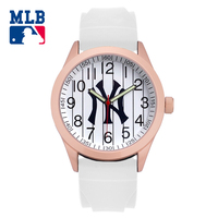 MLB NY Fashion Camouflage Cool Watches Rubber Waterproof Lover Watches Men Women Quartz Sport Student Wrist Watch Clock SD009
