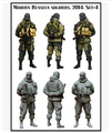 Scale Models 1/35 WW2 The Crimean Russian 2 soldier WWII Resin Model Free Shipping
