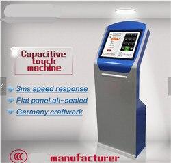 17 inch staande self service interactieve informatie kiosk