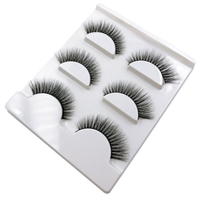 3 Pairs 3D Mink False Eyelashes Long Thick Dramatic Look Handmade Reusable Makeup Fake Eyelash JIU55