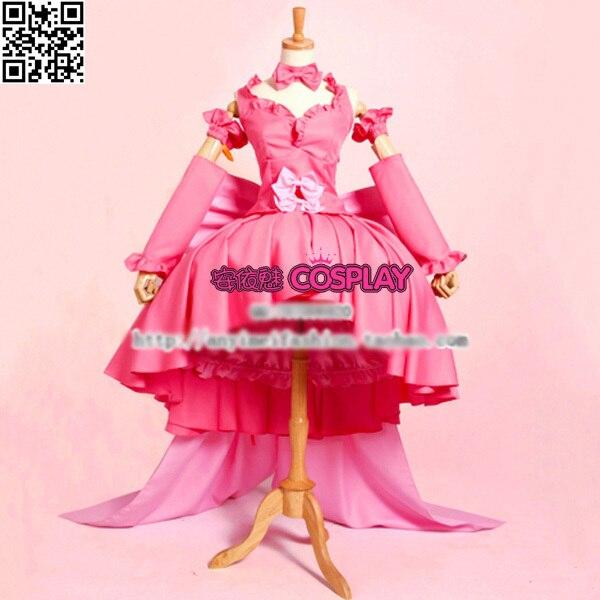 Чобиты еруда розовый COS аниме Косплэй Costum полный комплект