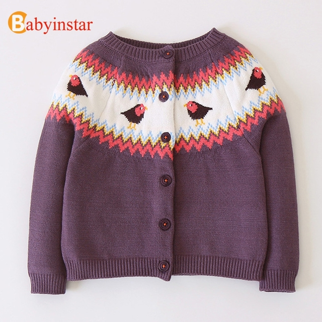 db4b733f2235 Babyinstar Baby Girls Sweater 2018 Vintage Style Baby Girls Clothes ...