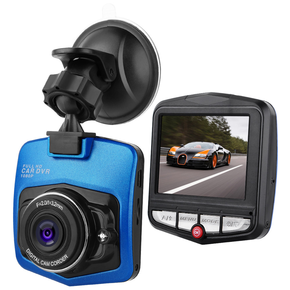 32GB TF Card G-sensor Dash Cam H.264 1080P Original Driving Recorders 140 Degree Angle Len Portable Car DVR 2.4 Inches Blackbox