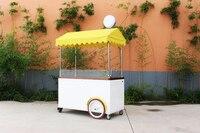 4 wheel motor cargo bike street foos cart ice cream machine bicycle for sale