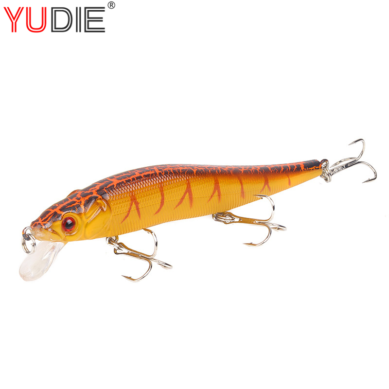 1pcs minnow fishing lure 15g wobblers with treble. Black Bedroom Furniture Sets. Home Design Ideas