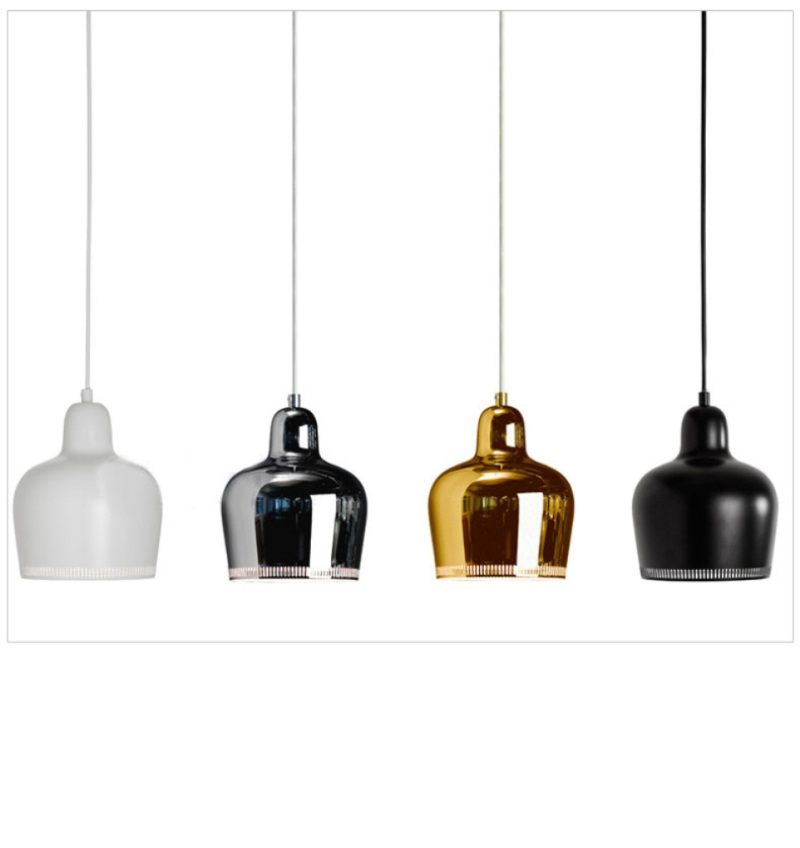 2016 Modern Artek Pendant Lights For Kitchen Room Dining Room Metal Lamp Fixtures E27 110V 220V Home Lighting Lampes Vintage New