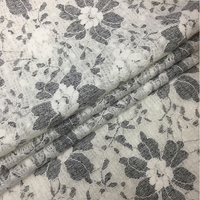 Italian Import Bonded Fleece Knitted Lace Fabric Fashion Wool Fabric Cashmere Telas Cheap Tissu Au Metre