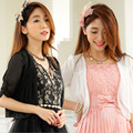 F~3XL Brand New Summer Women Fashion Wedding Accessories Cape Chiffon Bolero Sleeve Shoulder Shawl Cardigans Female Big Jacket