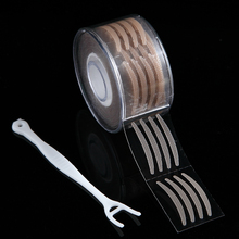 600pcs S Makeup Clear Lace Mesh Eyelid Thin Stripe Big Eyes Invisible Double Fold Eyelid Shadow