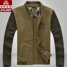 High quality! men's casual sweater jacket baseball uniform motion Battlefield Jeep Grand plus size military loose cardigan coat