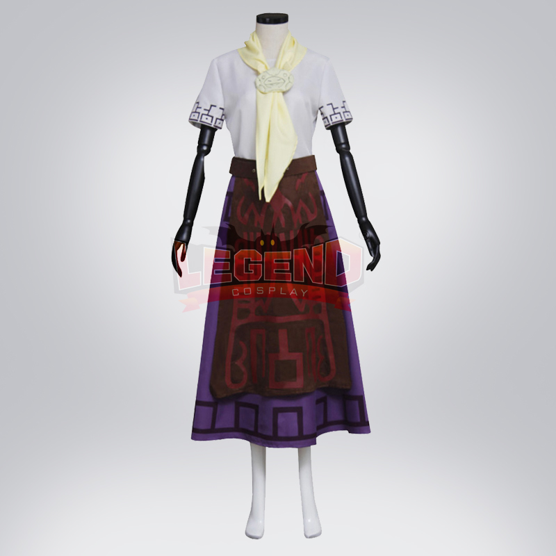 Cosplay legend The Legend of Zelda Malon Cosplay adult costume Custom Made full set