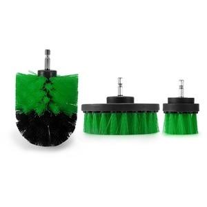 Image 5 - Brosse de nettoyage électrique, 3 pièces, brosse de nettoyage, pour les Surfaces de la salle de bain, baignoire, douche, carrelage, sans fil, Kit de nettoyage