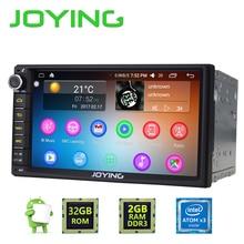 "Newest JOYING 2GB RAM 32G ROM 2Din HD 7"" Android 6.0 Universal Car Radio Audio Stereo GPS Navigation Media Player Tape recorder"