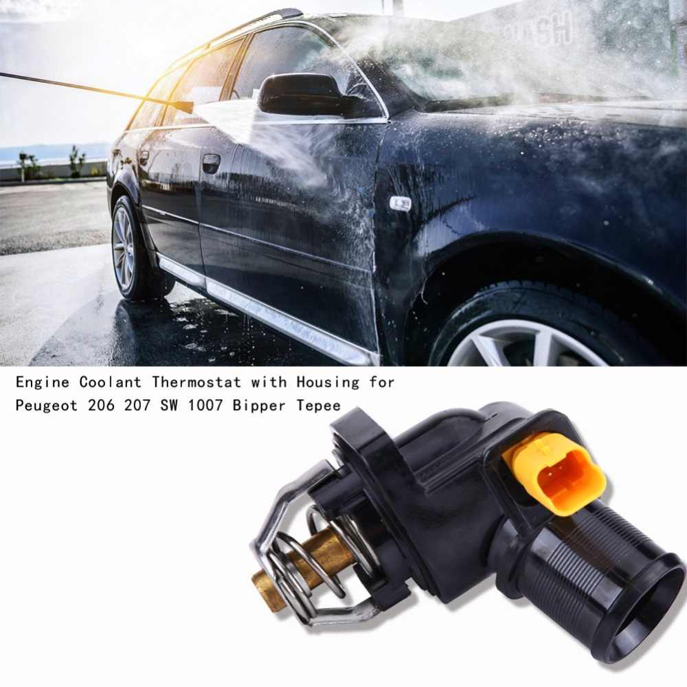 car engine coolant thermostat with housing for peugeot 206 207 sw 1007 bipper tepee 1336z2 cooling system thermostats \u0026 parts Engine Coolant Diagram