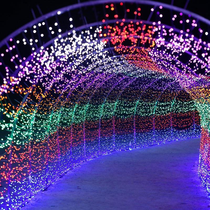 Festoon Decoration De Wedding Decorative New Year Navidad Luces LED Decoracion Christmas Outdoor Party Light Holiday Lighting cancion de navidad