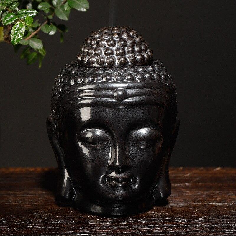 Набор керамических ароматерапевтических масел для дзен, Йога, горелка с Буддой, диффузор эфирных масел, индийская благовония, вышивка тибет...