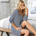 Sleep Nightdress Women Autumn loose modal cardigan shirt style nightgown long-sleeve nightdress
