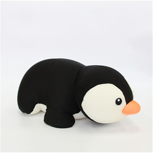 Bebecocoon Convertible U-shaped Neck Pillow Kawaii Penguin/Pig/Dolphin Animal Stuffed Plush Toy Multifunctional Travel Pillow