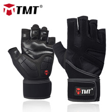 TMT Sports Fitness Gewichtheffen Gym Handschoenen Training Fitness bodybuilding Training Wrist Wrap Oefening Handschoen voor Heren Dames