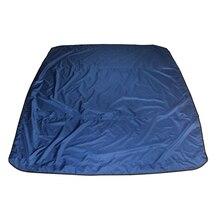 4 YAY Personaly Yedek Bimini Tuval, Gölgelik Ve Çizmeler Sadece, 600D PU Kaplı, takım Bimini Için 243×183 cm, 8'X67-72″