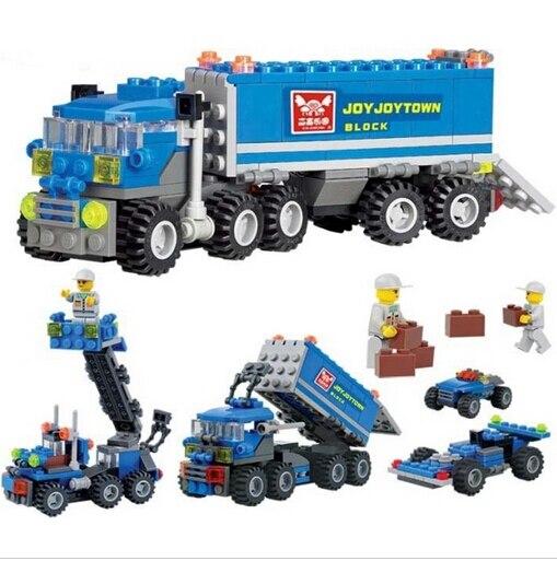 Caliente 163 unids niños regalo de Navidad aclara los juguetes educativos Juguetes DIY bloques de construcción, juguetes de los niños playmobile