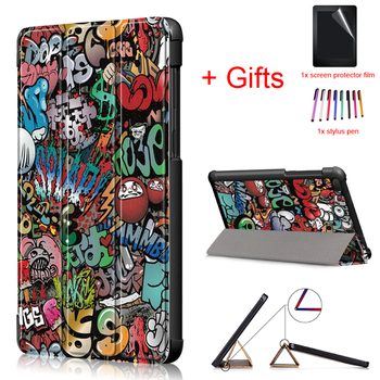 Ultra Slim Case Voor lenovo tab e7 tb-7104f 7 inch Tablet PU Leather Magnetic Stand Funda Cover voor lenovo tab e7 tb -7104 case