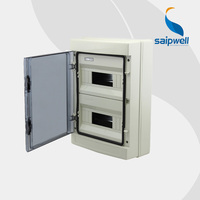 Saipwell 2014 Hot Distribution Box IP66 24 ways Power Distribution Box Waterproof Electrical Distribution Box HA-24 High Quality