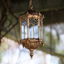 Europejskiej światła zewnętrzne lampy wiszące wodoodporna retro patio u nas państwo lampy LED nawy boczne ganek ogrodów zewnątrz światła korytarz ZH FG225