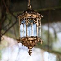 ヨーロッパ屋外照明ペンダントランプ防水レトロパティオランプ LED 通路ポーチ庭園屋外ライト廊下灯 ZH FG225|ペンダントライト|ライト & 照明 -