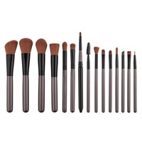 15 Pcs Professional Cosmetic Makeup Brush Foundation Eyeshadow Eyeliner Lip Make Up Eye Brushes Set