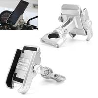 New Universal Aluminum Motorcycle Phone Holder for iPhoneX 8 7 6s Support Telephone Moto Holder for GPS Bike Handlebar Holder