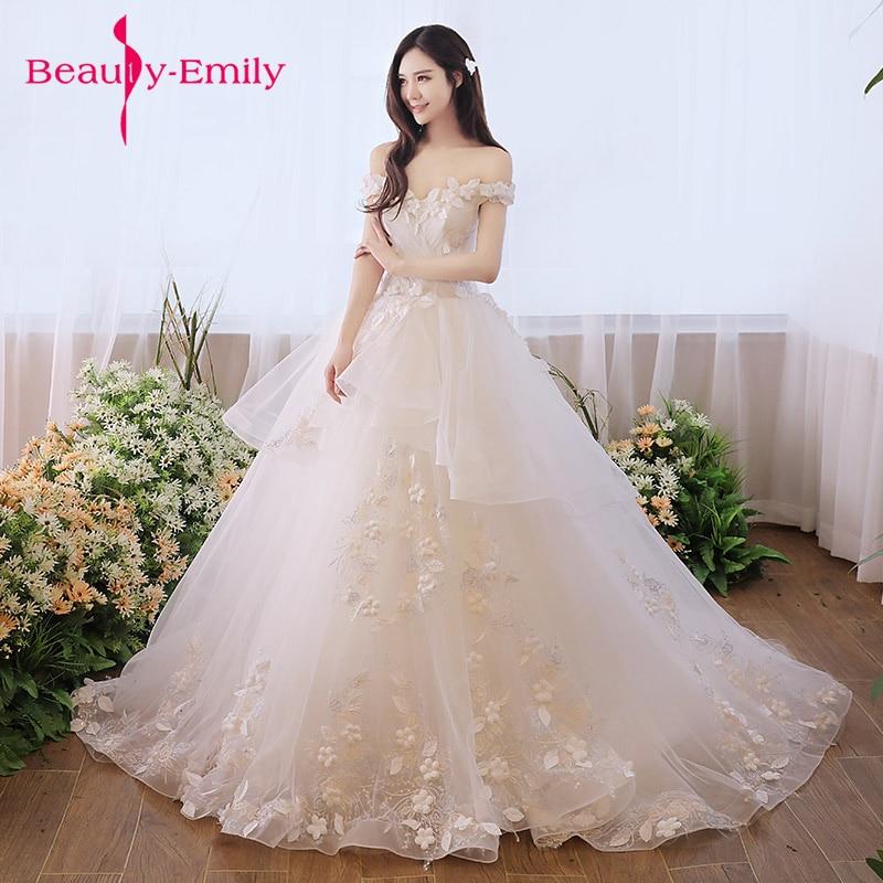 Aliexpress.com : Buy Beauty Emily Luxury Lace Up White