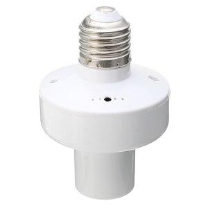 Image 4 - 3 E27 Ổ Cắm Vít Không Dây Điều Khiển Từ Xa Ánh Sáng Bóng Đèn Giữ Nắp Công Tắc Chuyển Đổi Bộ Chia Adapter AC110V/180  240V