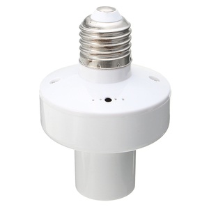 Image 4 - 3 pièces E27 douille vis sans fil télécommande lampe porte ampoule capuchon interrupteur convertisseur séparateur adaptateur AC110V/180 240 V