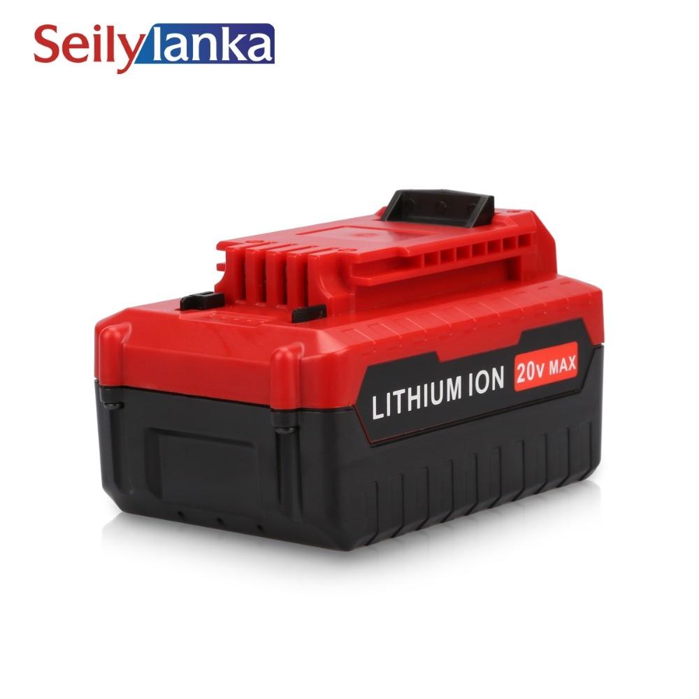 Paquet de batterie Rechargeable d'ion de Lithium de 20 V maximum 5000 mAh 5.0Ah pour Porter le câble PCC685L PCC680L PCC681L