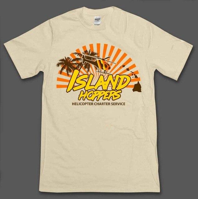 ff5e79478 Island Hoppers Magnum Pi Inspired Mens T-Shirt Tee 80'S Tv Show 2019 New  Trendy Hot Sale Men High Quality Logo Shirts