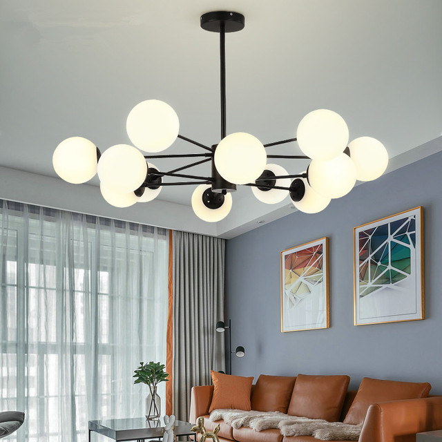 US $181.5 25% OFF|Vintage Retro LED Pendant Lights Milk White Ball Pendant  Lamps dining room fayer Kitchen Light Fixtures Hanglamp luminaire lamp-in  ...