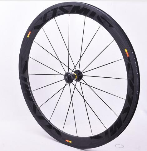 Ventes d'usine 700C carbone roues tubulaires 38mm 50mm 60mm 88mm carbone vélo roues pneu route vélo roues basalte freinage