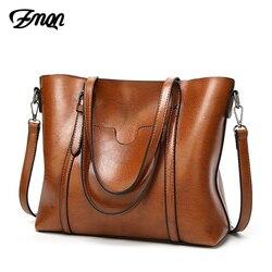 ZMQN bolsa para las mujeres 2018 famoso de la marca de lujo de bolso mujer bolsos de hombro Crossbody Bolsa De cuero suave, bolso de Vintage C914