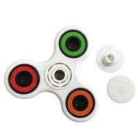 snowshine3 #4503  Hand Spinner Tri Fidget Ceramic Ball Desk Focus Toy EDC Table game