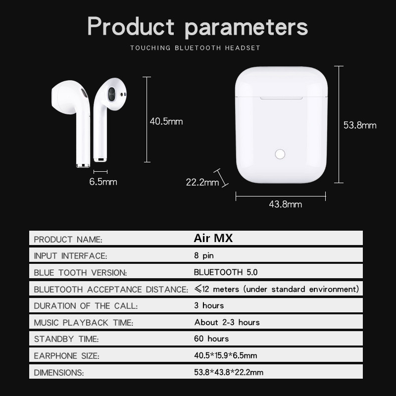 air pods  i10 i11 i12 i13 (12)