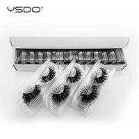 YSDO 30 pairs eyelashes wholesale hand made mink eyelashes natural eyelashes false lashes fluffy lashes makeup 3d mink lashes